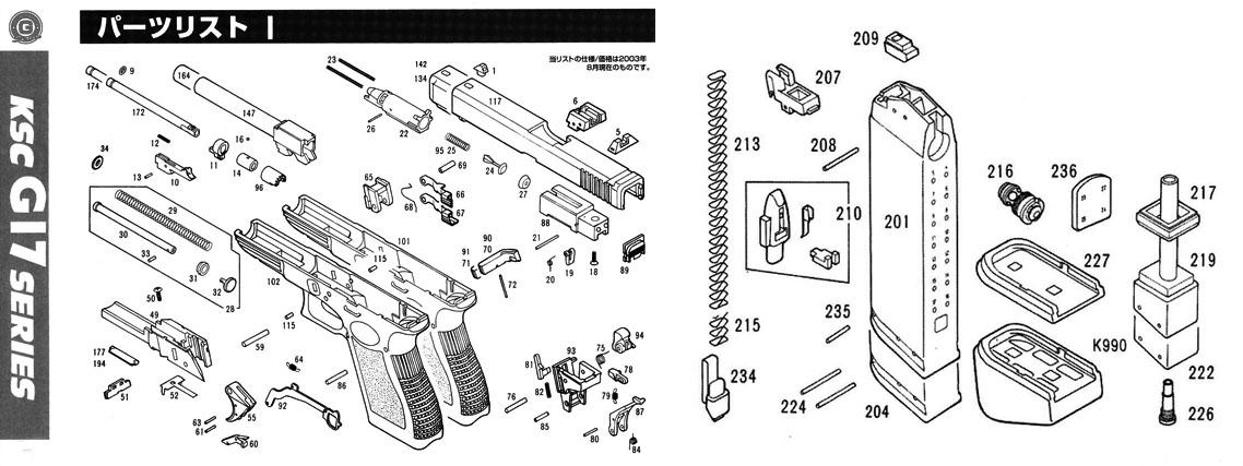 magazine seal for ksc glock ksc part original. Black Bedroom Furniture Sets. Home Design Ideas
